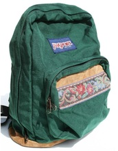 green,bag,jansport,floral,backpack,back to school