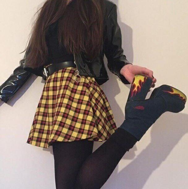 shoes black high heels fire print lace shorst black