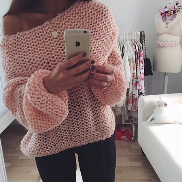 The pretty preppy sweater