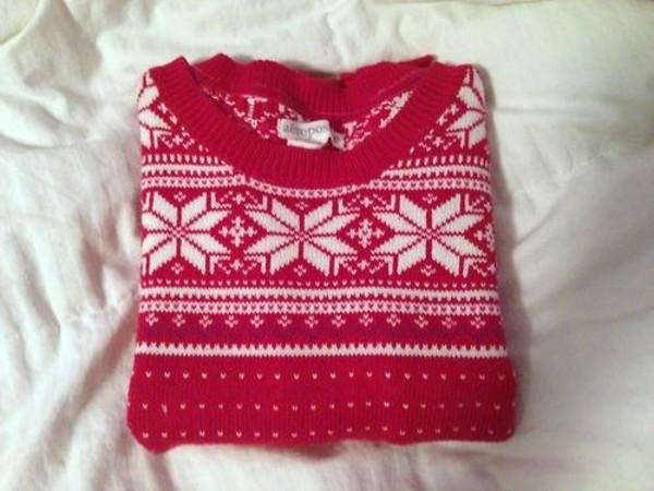 sweater snowflake sweater