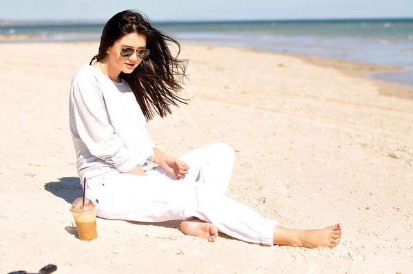 le flassh blogger jeans sweater