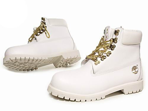 Men's Timberland CUSTOM 6-Inch Boots-White Gold at great ...