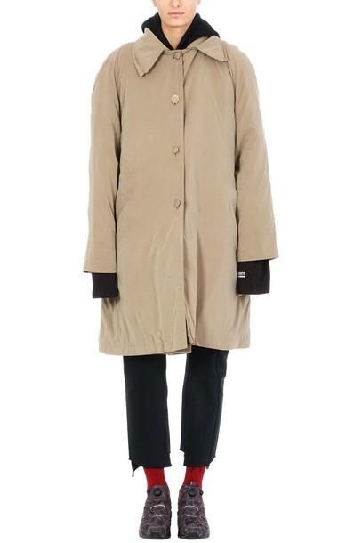 Vetements coat beige