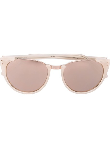Linda Farrow sunglasses purple pink
