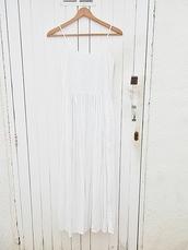 dress,white,ibiza style