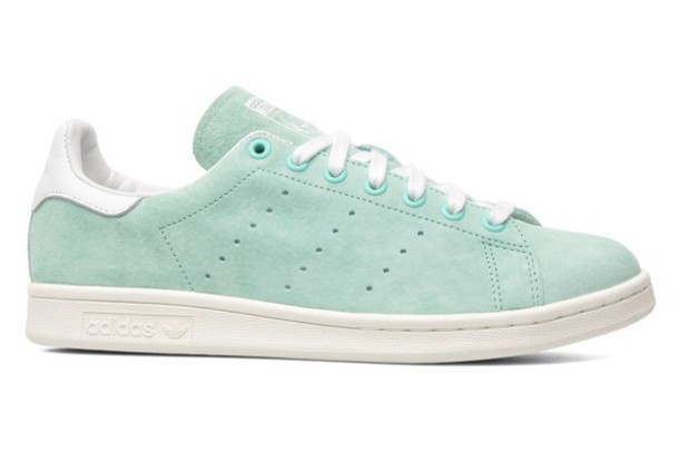 shoes blue adidas adidas shoes stan smith mint aqua