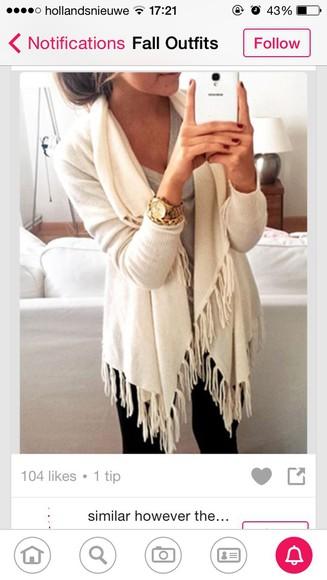 beige dress cardigan black white dress