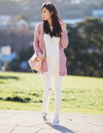metallic paws blogger sunglasses jeans bag shoes