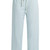 Drawstring-waist cropped cotton trousers