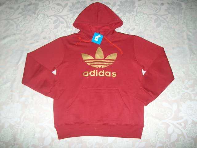 trefoil Adidas red Adidas hoodie mens