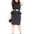 Ruffle Shoulder Peplum Dress | Women's Plus Size Dresses | ELOQUII