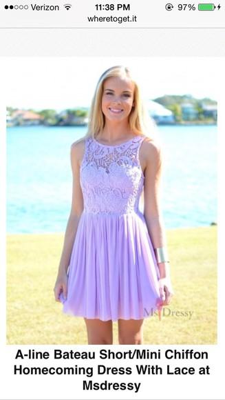 purple dress lace dress lavender dress lace