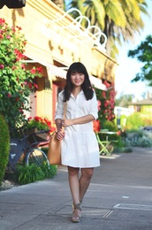 daily disguise,blogger,dress,shirt,shoes,bag