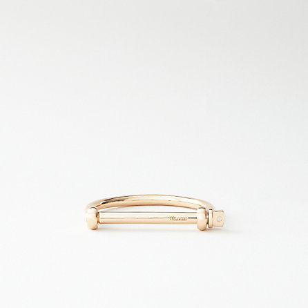 Miansai Rose Gold Screw Cuff | Women's Jewelry | Steven Alan
