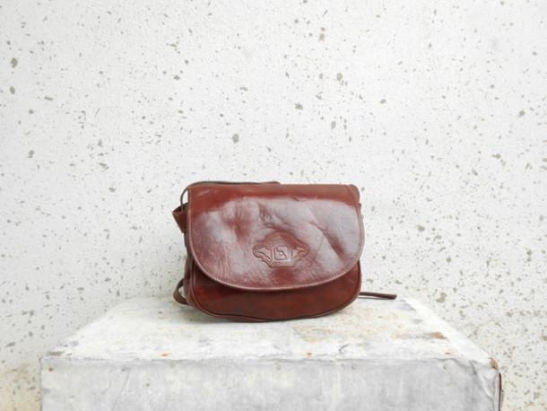 3a897678f6 bag vintage leather bag vintage leather purse vintage crossbody bag brown  leather bag cowhide bag women