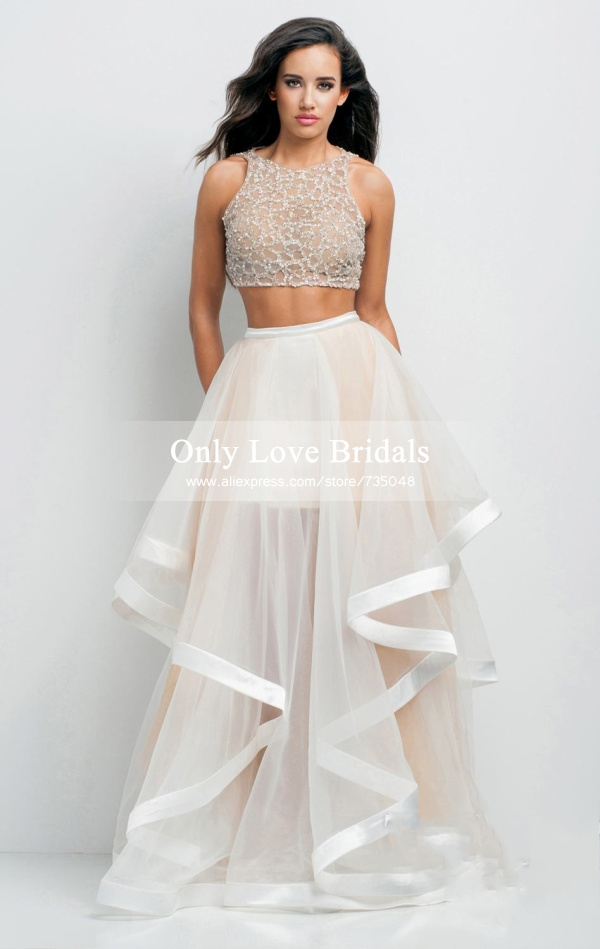 Aliexpress.com : Buy 2015 Fashion Mint Green Tulle Ball Gown Prom ...