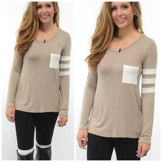 shirt amazinglace amazinglace.com top varsity long sleeves