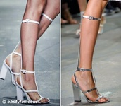 shoes,heels,knee high,alexander wang,high heels,straps