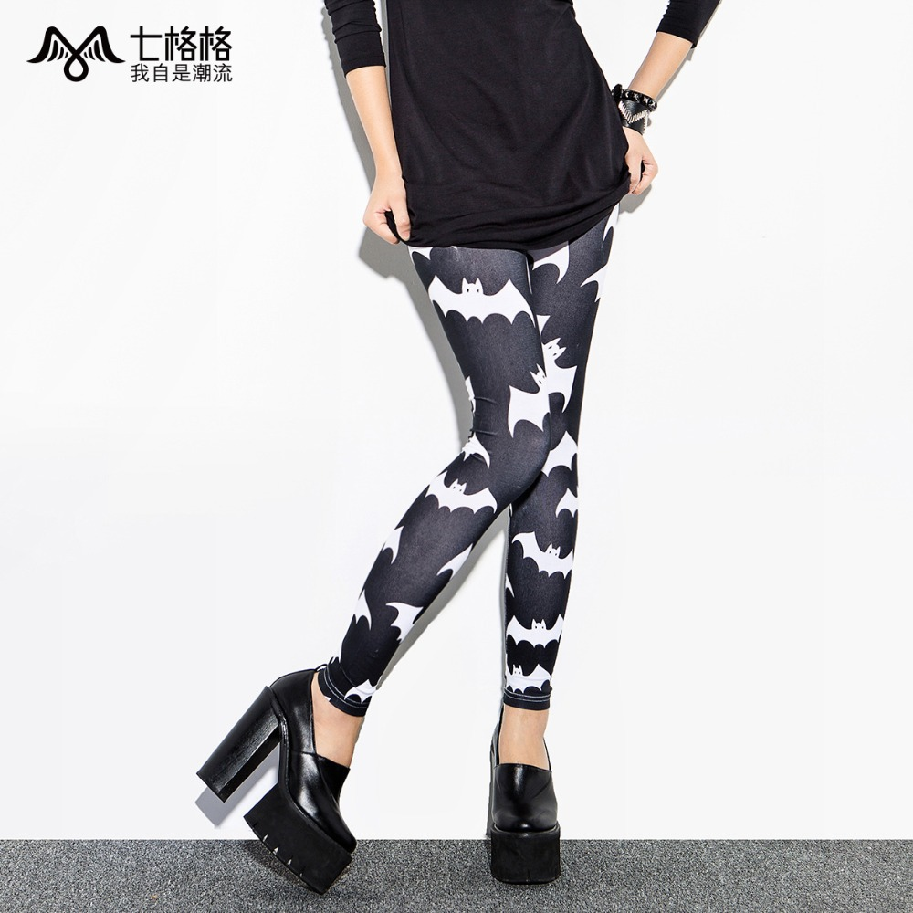 OTHERMIX 2014 summer new bats printed stretch Slim Leggings-in Leggings from Apparel & Accessories on Aliexpress.com | Alibaba Group