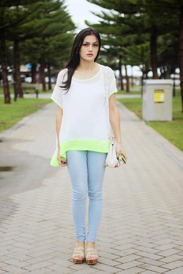 shirt persun persunmall white shirt white summer
