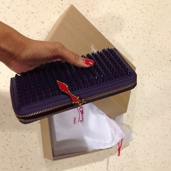d91b35c0ec1 Christian Louboutin - Panettone Studded Continental Wallet - Saks.com
