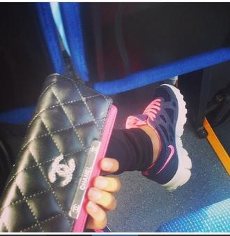 bag clutch chanel chanel bag pink