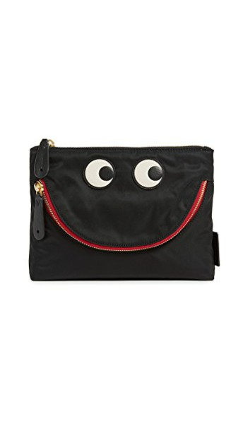 Anya Hindmarch eyes pouch black bag