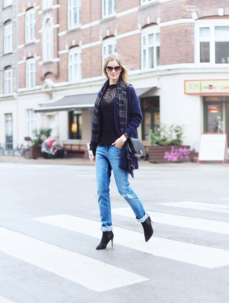 passions for fashion blogger coat shirt jeans shoes scarf sunglasses bag