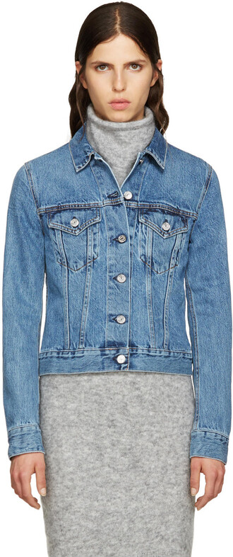 jacket denim blue