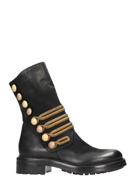 STRATEGIA leather ankle boots ankle boots leather black black leather shoes