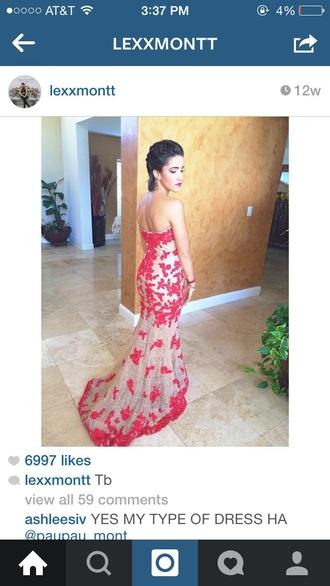 dress tan dress prom dress red dress