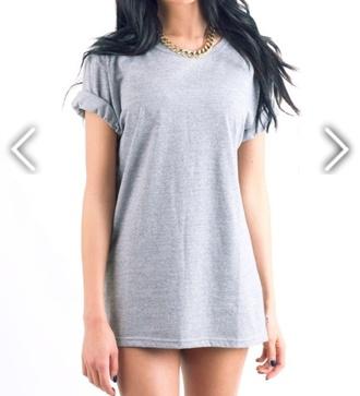 shirt rolled up sleeves tee shirt charcoal oversized oversized shirt