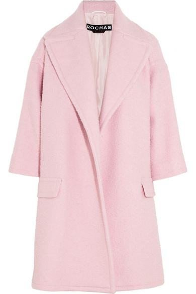 Rochas | Oversized wool-blend coat | NET-A-PORTER.COM