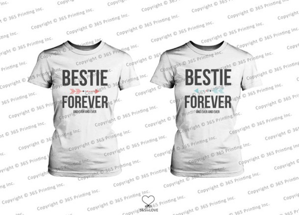 e65523e68 shirt bff bff besties bff bff bff shirts best friend forever matching shirts  twin fashion identical
