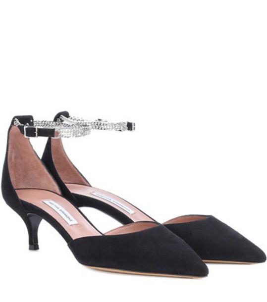 heel pumps black shoes