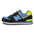 Women's new balance ML574YCN Yacht Club lovers Black Yellow Blue Shoes