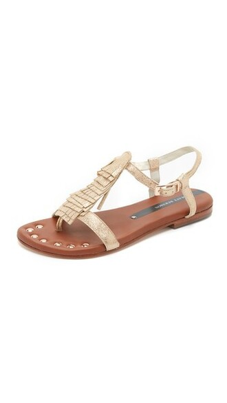 rose gold rose sandals gold shoes