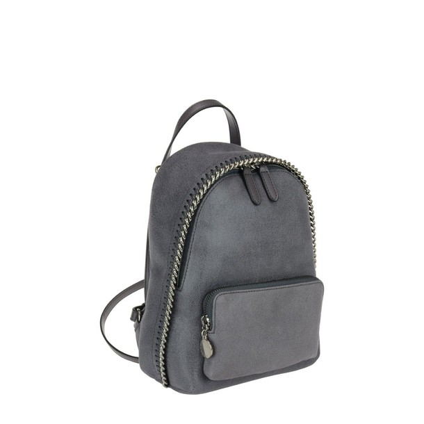 Stella McCartney mini backpack dark grey bag