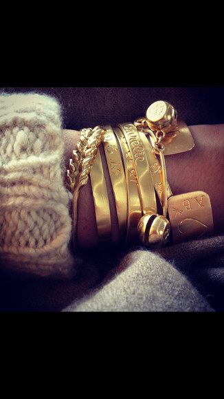 jewels bracelet bracelets gold bangle bangles rosy style jewlery