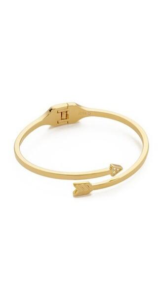 arrow clear gold jewels