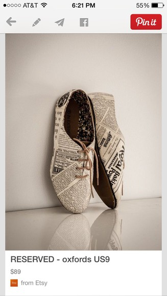 shoes oxfords printed oxfords