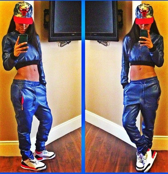 pants teyana taylor shirt red lime sunday cap