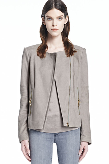 Jacqueline Suede Jacket | J Brand