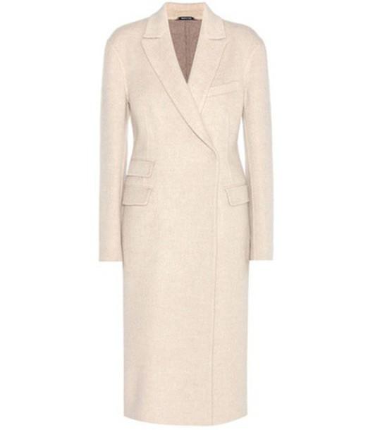 Maison Margiela Cashmere Coat in beige / beige