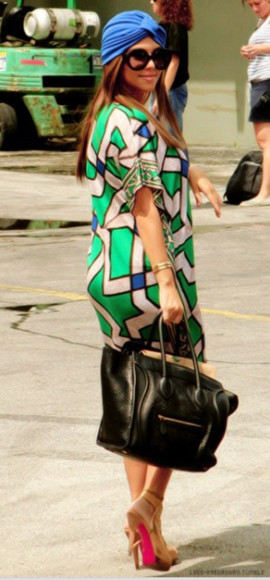 kourtney kardashian dress vert pomme