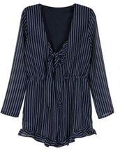 shirt,romper,blue romper,long sleeve romper,ustrendy,annemerel,blogger