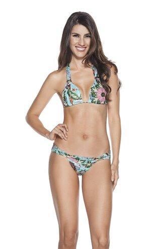 swimwear triangle bikini triangle bikini bikini top bikini bottoms