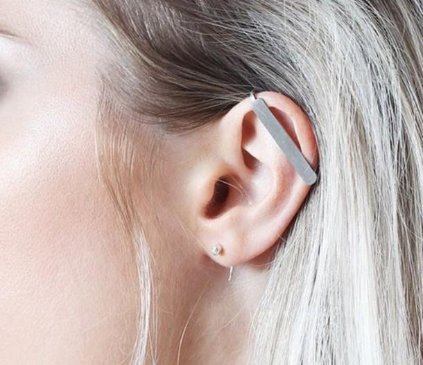jewels earrings ear cuff ear accessories minimalist jewelry