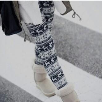 pants christmas leggings