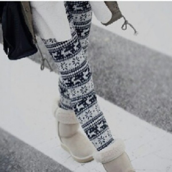 pants christmas leggings